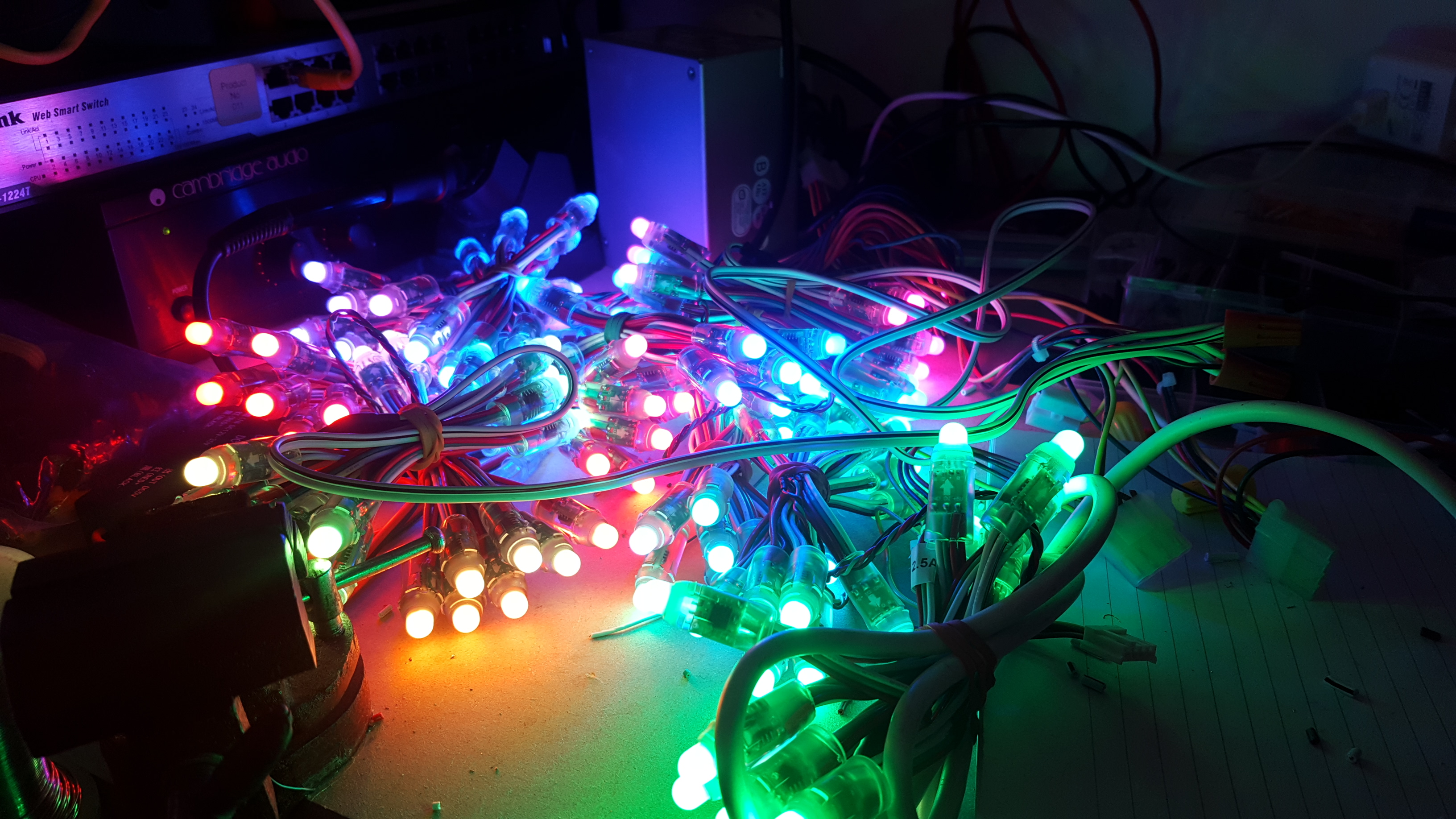 Ws2811 Tom Hopkins Christmas Light Wiring Diagram 3 Wire Besides String Lights In To Inject The Power All Connections Were Covered Adhesive Lined Heat Shrink Tubing Try And Keep Waterproof