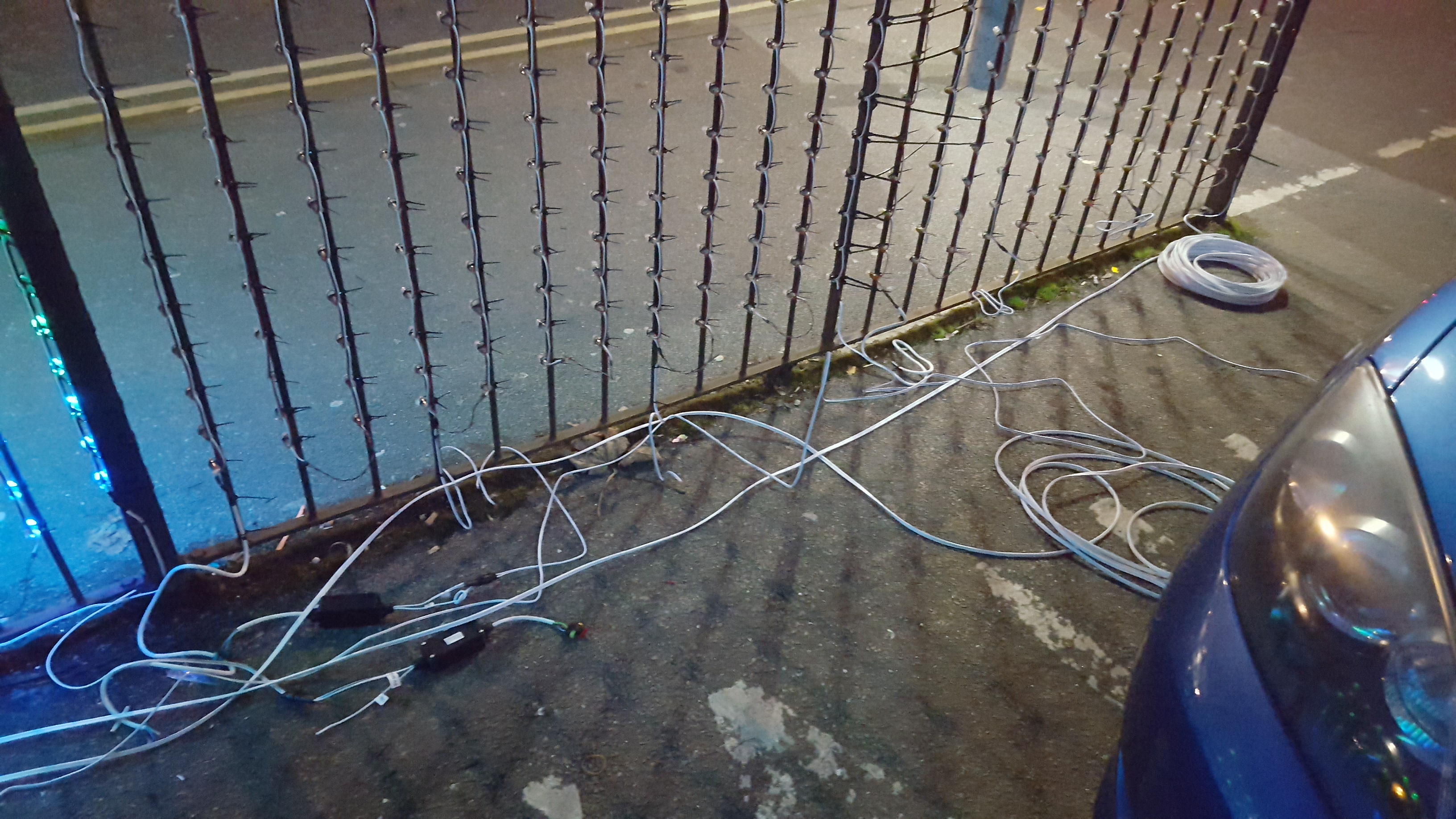 Ws2811 Tom Hopkins Christmas Light Wiring Diagram 3 Wire Besides String Lights Any Thicker Cable Than This Would Be Allot More Expensive And Also A Struggle To Fit Through Glands Into Crimps